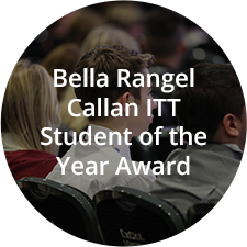 Bella Rangel Callan ITT Student of the Year Award